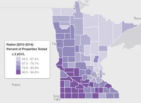 Radon Levels Minnesota